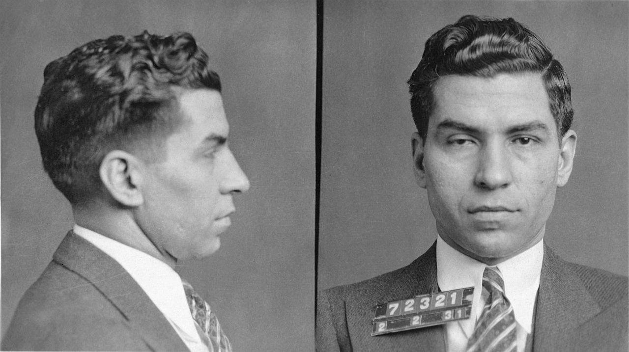 New York City - Charles -Lucky- Luciano - Lucky Luciano Mugshot 1931