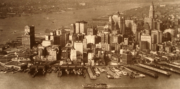 New York City - Lower Manhattan (1920)